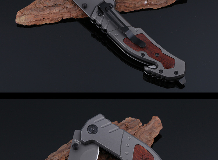 Buy Jeslon BROWNING X42 Multitools Self-defense Folding Knife Mini Pocket Outdoor Camping Tactical Survival Knife with Bottle Opener cheap