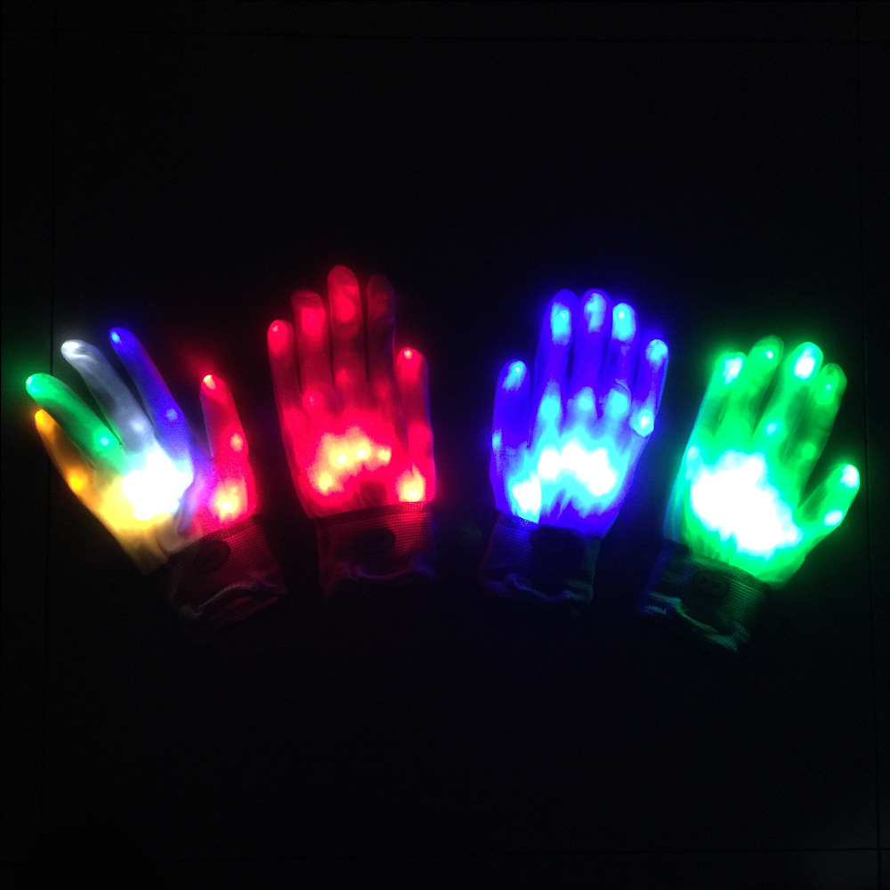 Luminous LED Gloves