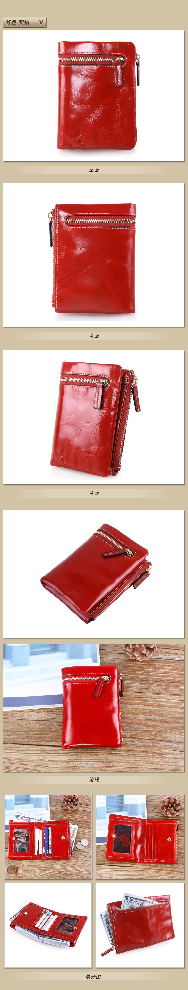 wholesale leather wallets for women