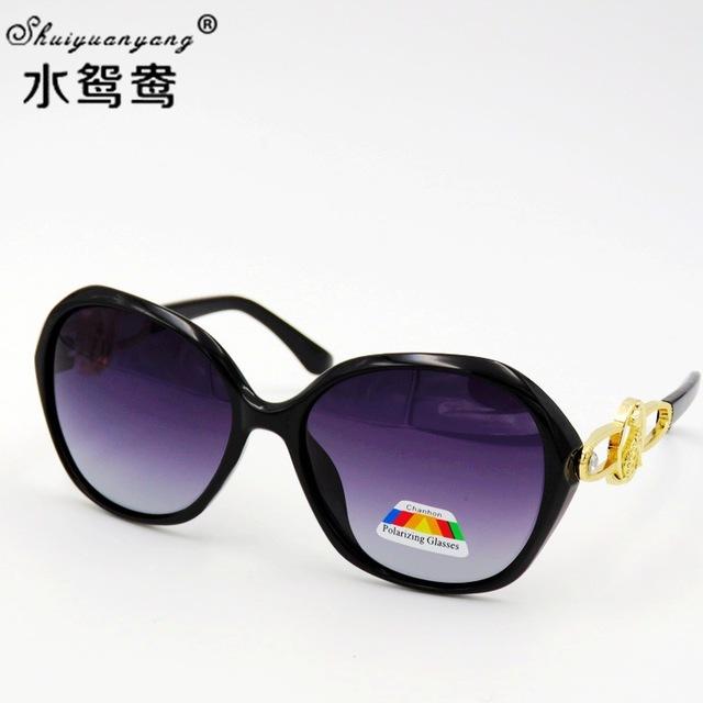 潮流女士偏光镜复古女士太阳镜时尚偏光眼镜开车墨镜8013