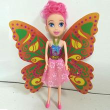 新款热销蝴蝶仙子洋娃儿童玩具生日蛋糕杯芭芘巴比娃娃厂家直销