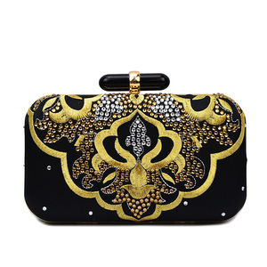 Evening bag night club embroidered bags High-end banquet bag full drill handbags