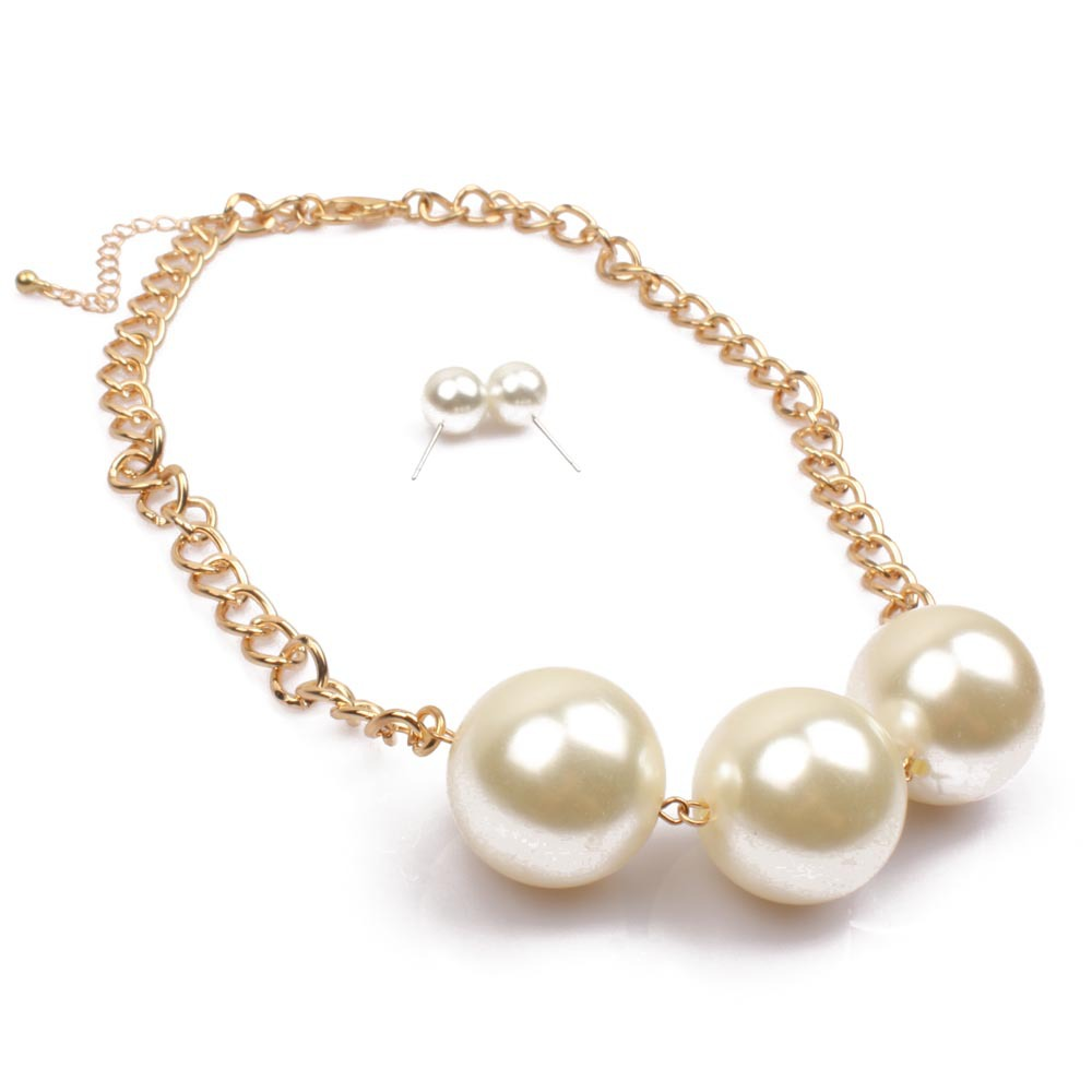 Occident and the United States pearlNecklace (4550)NHCT0057-4550