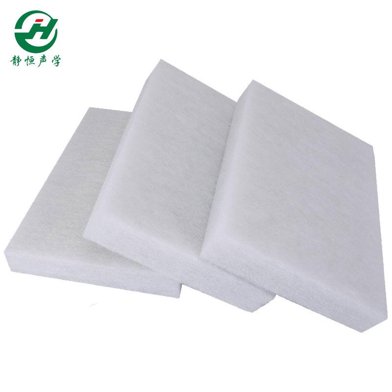 聚酯纤维50mm隔音棉 厂家现货吸音室内材料 环保阻燃梯度填充棉