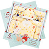 With baby clothes, newborn gift boxes, autumn and winter thickening newborn baby, baby kit, mother and child supplies Da