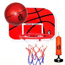 免打孔掛式兒童籃球架鐵籃筐壁掛籃球框寶寶投籃玩具戶外室內運動