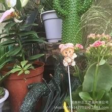 爆款欧式创意复古微景观多肉花盆栽树脂插件娃娃多肉植物花盆装饰