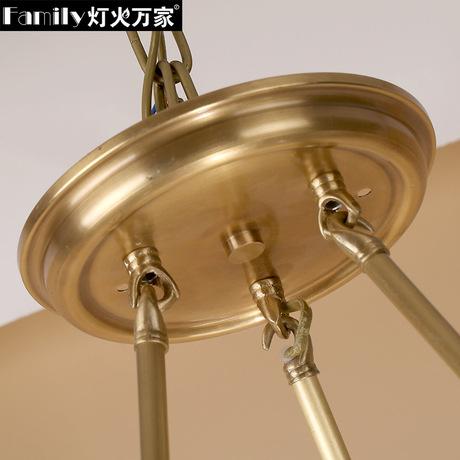 Đèn quạt đồng  1004
