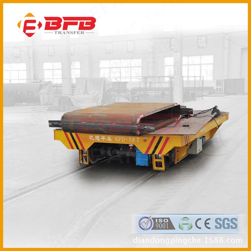 厂家现货销售运输镍粉电瓶式轨道车 汉中10t平板运输车地轨车