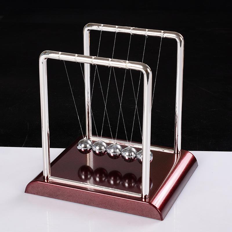 多款方形牛顿摆创意学生礼品 永动仪碰撞球弹牛顿摆家居装饰摆件
