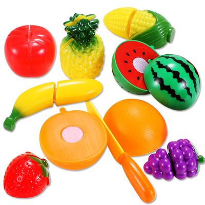 儿童早教益智过家家玩具切水果切乐9件套女孩宝宝切水果玩具套装