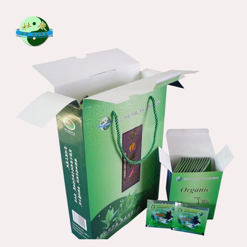 杜康牌开化杜仲茶 国家地理标志产品 德国认证欧盟标准出口有机茶