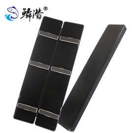 浮漂盒53CM多功能漂盒ABS工程塑料材质黑色塑料鱼漂盒