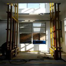 廠家定做導軌式升降平臺固定式升降機倉庫提升機升降降貨梯