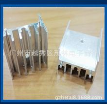 三极管/IGBT散热扇形铝片32*16*25高度/长度可任意切