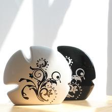创意陶瓷工艺装饰情侣礼品  现代时尚家居摆设结婚摆件 情侣鱼