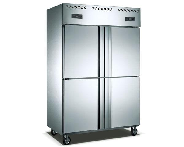 【通宝/中宝】立式四门暗管双机双温冷冻冷藏柜ZB-1000L4A2