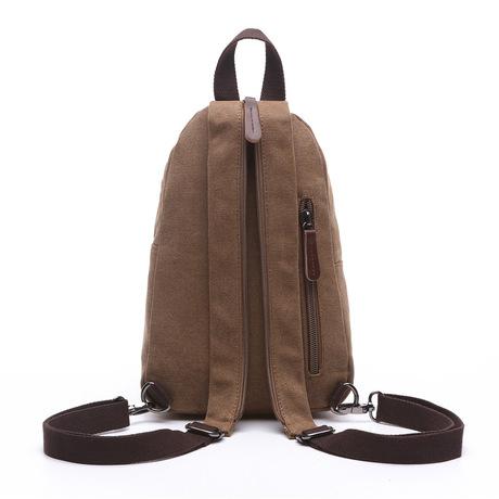 Túi vải du lịch vai Makino Xu hướng thời trang đường phố Châu Âu và Hoa Kỳ công suất lớn túi xách nam nữ ngoài trời