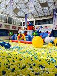 厂家直销优质淘气堡百万海洋球儿童游乐场波波球加厚7cm8cm玩具球
