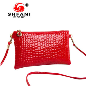 Ladies bag 2017 new handbag bag small crocodile Shoulder Messenger Bag Handbag Factory Direct