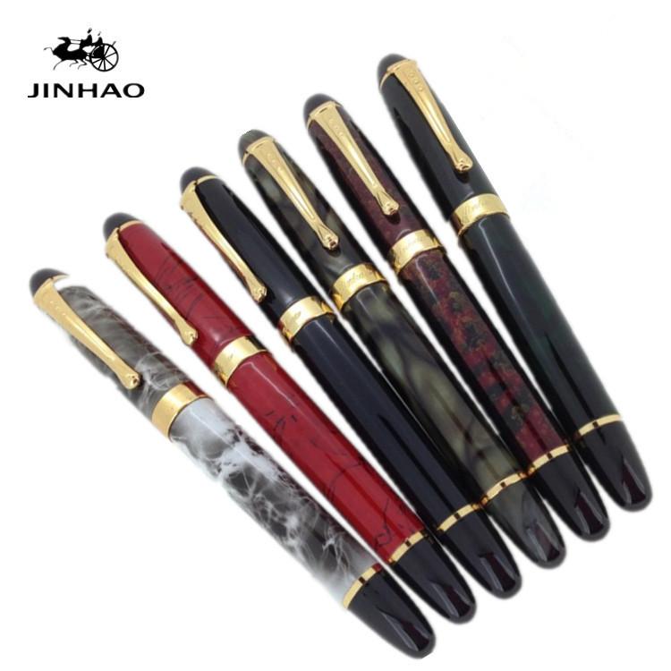金豪 X450铱金笔墨水笔 商务签名钢笔 学生文教练字笔礼品笔