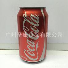 批发供应香港进口可口可乐碳酸饮料330毫升   24瓶一箱