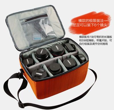 货源单反相机包 镜头收纳包 单肩斜跨相机包 摄像机内胆包 C333批发