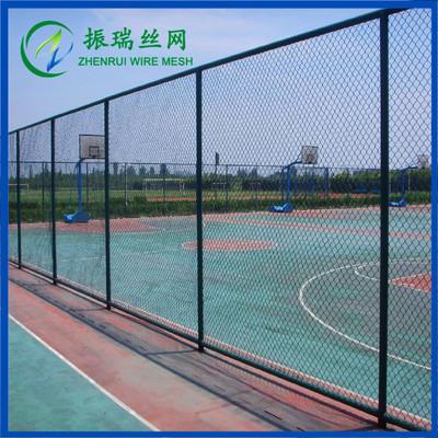 振瑞设计生产安装篮球场护栏网口字型日字型组装式框架式等