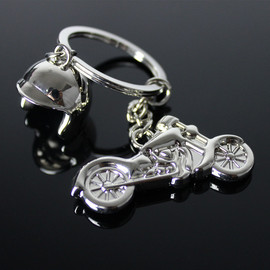 Boutique Harley motorcycle helmet keychain Creative motorcycle key chain helmet can laser logoG-209