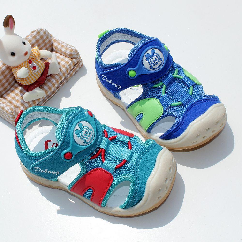 巴布豆童鞋婴儿宝宝凉鞋子儿童学步鞋软底机能凉鞋男女童夏季防滑
