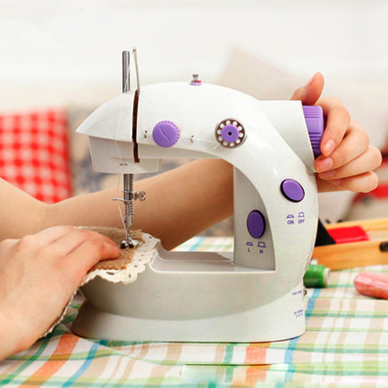 how to use mini sewing machine 4 in 1