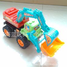 批发惯性挖掘机工程?#30340;?#22411;儿童玩具批发地摊益智多元店玩具总汇