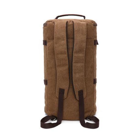 Makino túi vải công suất lớn túi xi lanh một vai xách tay ba túi sử dụng túi xách tay du lịch đôi