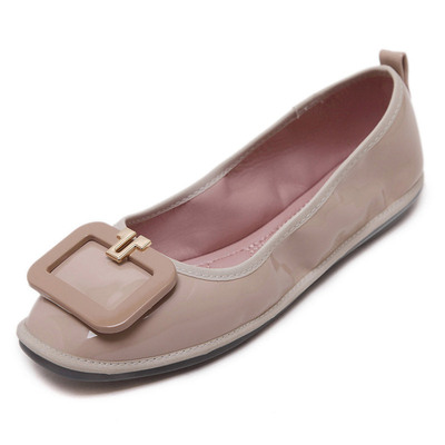 Gommette patent leather ballet shoes's main photo