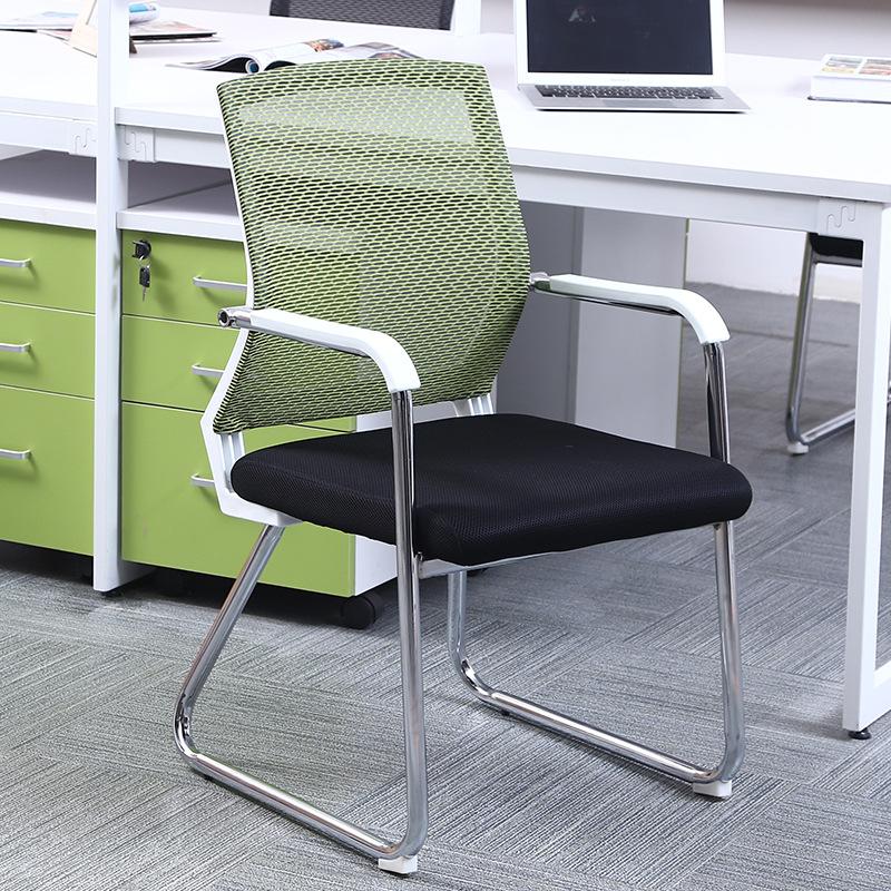 安吉简约网布职员办公椅 休闲洽谈椅 培训会议椅 厂家直销