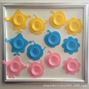 硅胶 儿童碗强力吸盘 隔热 宝宝餐具防滑垫 婴儿辅食碗垫 防打翻