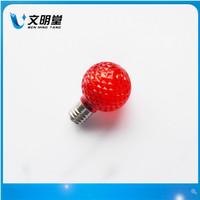 Лампочка с рассеивателем питания строковые клубникой лампы G40 E12 110V1W