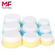 高端化妆品乳液膏霜分装盒 防摔防漏 可重复使用螺旋盖化妆品盒子