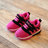 Spring and autumn children's shoes and children's tennis shoes 1-2-3 years old baby toddler soft bottom flame sports sho