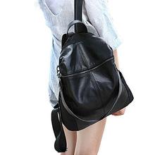 一件代发2016新款真皮头层牛皮双肩包女包旅行包背包广州厂家批发