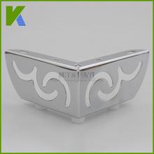 厂家供应优质沙发脚茶几柜脚六分二合一电镀金属五金脚家具脚桌腿