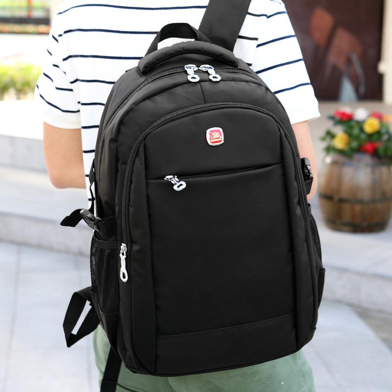 新款男士旅行包户外运动双肩背包韩版旅游牛津包防水耐用大容量