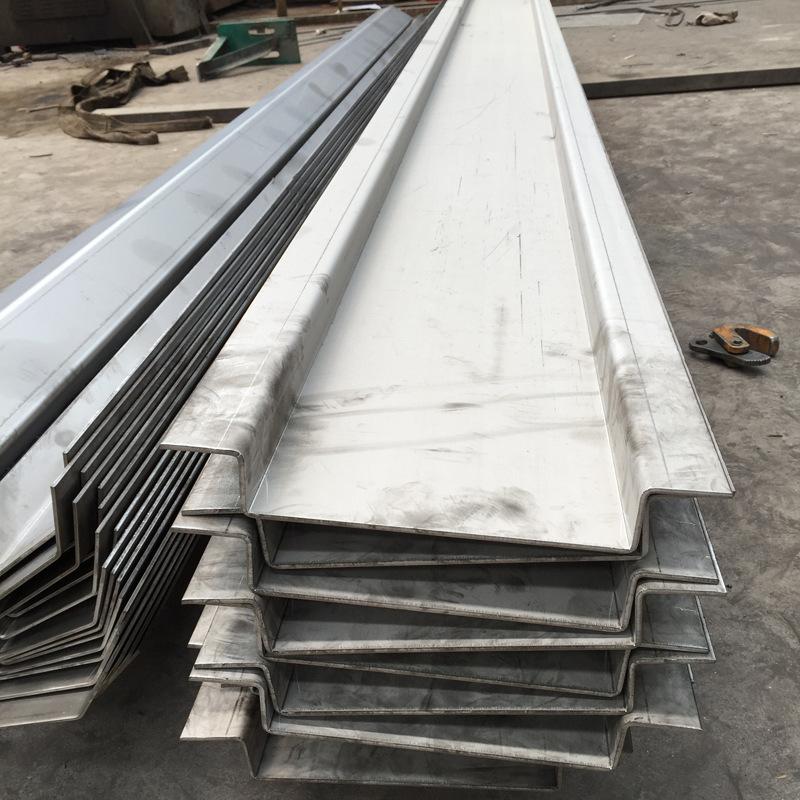 定制加工钢板水槽 承接大小钢板水槽项目 U型钢板水槽钢材加工