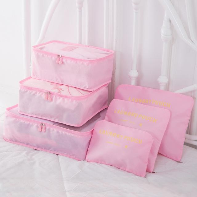 nhà sản xuất Hàn Quốc bán buôn túi du lịch túi quần áo phù hợp với sáu hoàn thiện gói gói nhập học du lịch Liu Jiantao Quà du lịch
