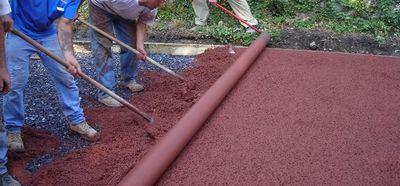 供应长春、吉林、四平透水地坪,专业施工 质量保证