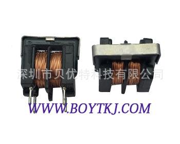 插件共模滤波器UU10.5≥80MH立式卧式电感 功率电感器