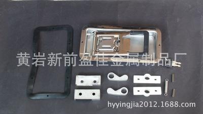 02342D不锈钢抛光厢式货车后门锁、内藏式门锁、厢式车集装箱配件