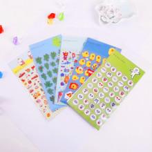 韩国文具批发 懒得购可爱立体泡泡贴 手机日记手帐装饰贴纸 5款