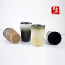 景德镇复古磨砂陶瓷杯水杯马克杯茶杯创意礼品定制厂家直销批发