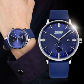 Time beauty men's watch casual quartz watch  authorized  and retail business men's watch
